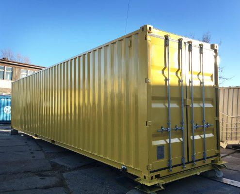 40 dv container polkont. Black Bedroom Furniture Sets. Home Design Ideas