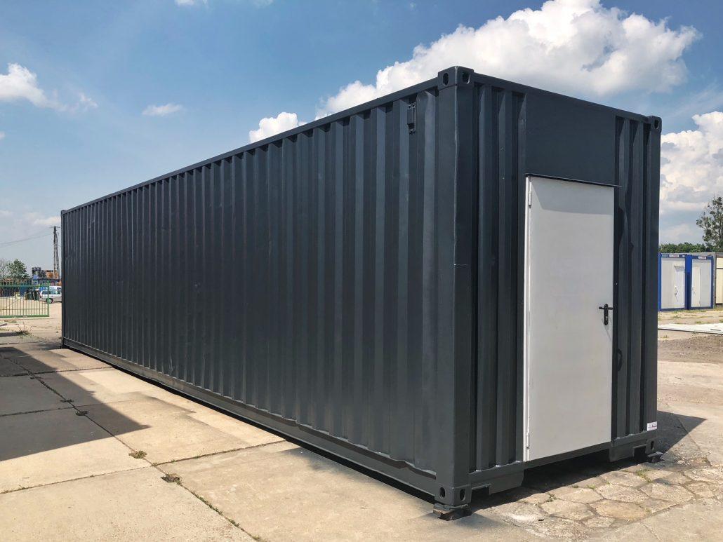 Chłodny Zmodyfikowany kontener używany 40′ - Polkont LD94